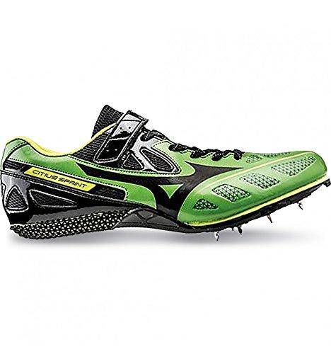 Mizuno Citius Sprint - Zapatillas con tacos de velocidad para hombre Verde Size: 11 US