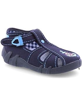 Jungen Canvas Sneaker Hausschuhe Sandalen Baby Kinder Kleinkind