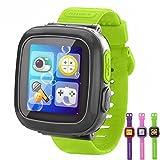 ENFANTS Jeu Smart montres [AR Pro Edition] pour garçons filles avec podomètre Timer Camera Montre-bracelet Alarme tracker de fitness montre de sport Intérieur ou extérieur enfant jouet cadeaux