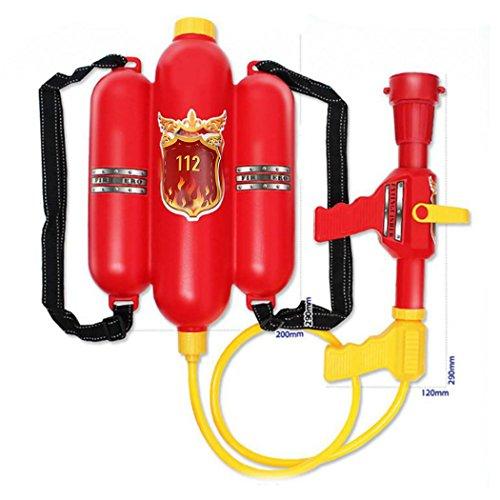 Kinder Cute Outdoor Super Soaker Blaster Fire Rucksack Druck Squirt Pool Spielzeug Kinder Sommer Strand Gaming Wasser Gun