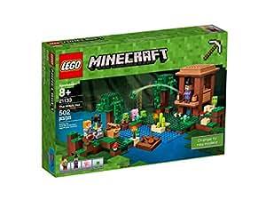 lego 21133 minecraft jeu de construction la cabane de la sorci re jeux et jouets. Black Bedroom Furniture Sets. Home Design Ideas