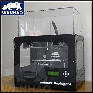 WANHAO Duplicator 4x impresoras 3d (Transparent Case Dual Extruder