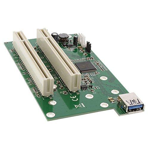 InLine 76616K Schnittstellen-Adapterkarten-Kit 2X PCI auf PCIe (PCI-Express) - Ethernet-schnittstellen-kit