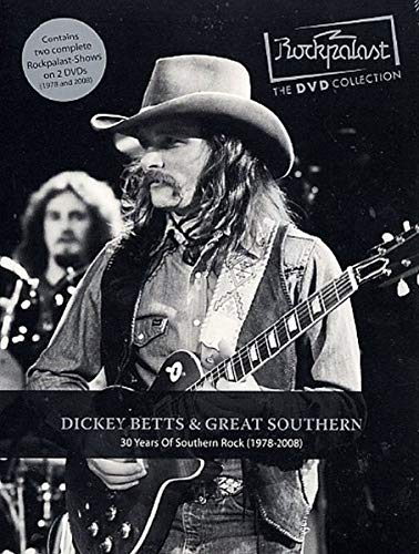 Dickey Betts & Great Southern - Rockpalast: 30 Years Of Southern Rock (2 DVDs) -