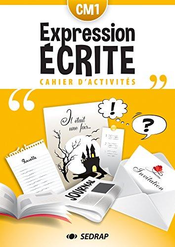 Français CM1 lot de 5 cahiers d'expression écrite par SEDRAP