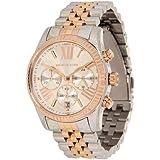 Michael Kors MK5735 - Reloj de cuarzo con correa de acero inoxidable para mujer , multicolor