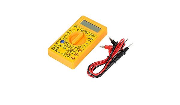 Nopnog Digital Multimeter Dt 830b Ohmmeter Volt Tester Gelb Auto