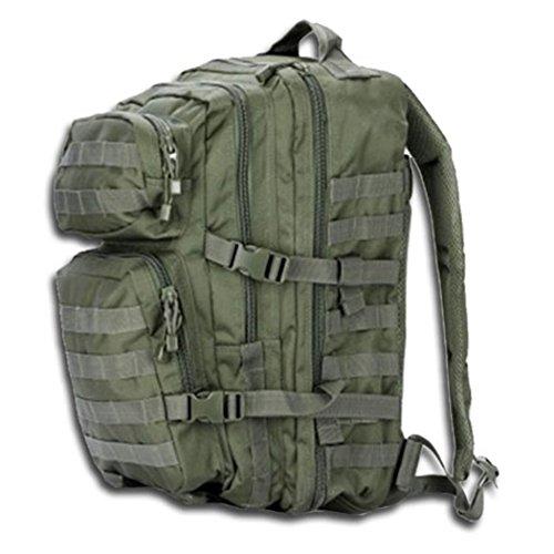 BKL1® US Assault Pack Large Molle EDC Olive Randonnée Prepper Survival 567