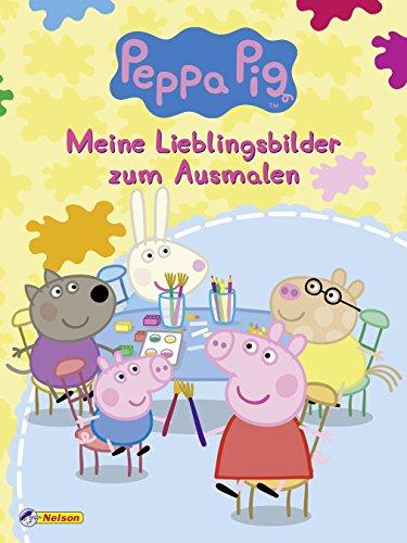 Peppa Pig: Meine Lieblingsbilder zum Ausmalen par