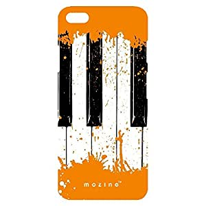 Mozine Orange Piano printed mobile back cover for Apple Iphone 6