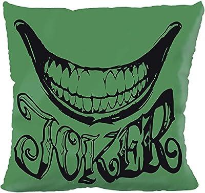 Suicide Squad Joker Coussin décoratif multicolore