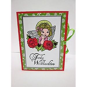 Geschenkbox Buch, Buchbox, Schmuckbox, Weihnachten