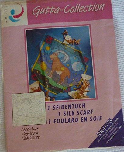 Collection-schal Aus Seide (ARTY'S artys Seidenmalerei Gutta Collection-Schal, Steinbock)