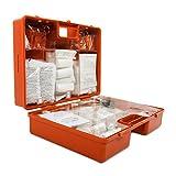 Erste-Hilfe-Koffer gemäß DIN 13169 | großer Verbandskasten für Betriebe | inkl. Wandhalterung | extragroßer Koffer für Zubehör