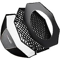 Walimex Pro Octagon Softbox PLUS Orange Line 120 cm Durchmesser für pro&K