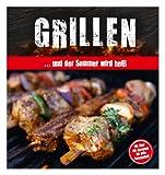 """: Grillbuch """"Grillen ...und der Sommer wird heiß"""" mit Hardcover"""