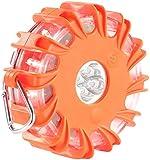 VisorTech Pannenleuchte: Notfall-Warnblinkleuchte, SOS-Signal, 10 Leuchtprogr. orange (Warnblinkleuchte Auto)
