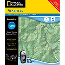 National Geographic Arkansas: Seamless Usgs Topographic Maps