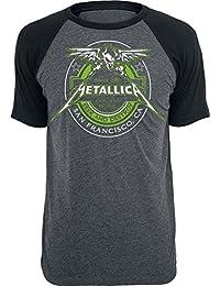 Metallica Fuel T-Shirt Charcoal-Black