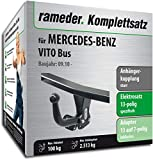 Rameder Komplettsatz, Anhängerkupplung starr + 13pol Elektrik für Mercedes-Benz VITO Bus (121745-05013-3)