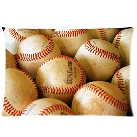 Love Sport Baseball- Fashion Custom Baseball In Your Home Pillow Cases (20x30)(Twin Sides) Zippered Pillow Cases B401