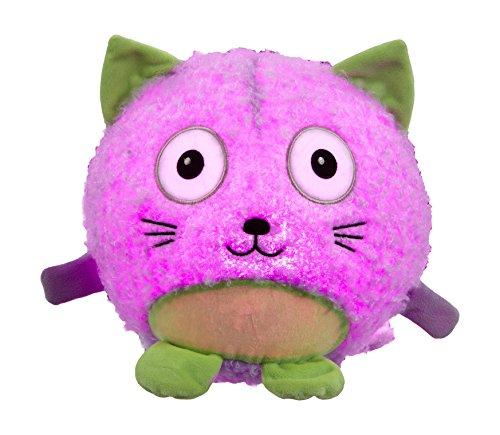 Vivid Imaginations Oodlebrites–Gato de peluche luminoso, multicolor