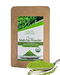 Matcha Green Tea Powder from Japan | 100% Organic Premium Grade | Super Antioxidant | Boost Energy & Focus | Perfect for Lattes, Baking, Smoothies | Eco Friendly Packaging (50g)