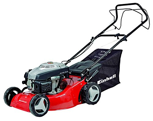 Einhell GC-PM 46 S Self Propelled Petrol Lawnmower with 46 cm Cutting Width – Red