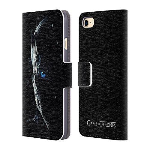 Offizielle HBO Game Of Thrones Night King Werbemotiven Staffel 7 Brieftasche Handyhülle aus Leder für Apple iPhone 5 / 5s / SE Night King