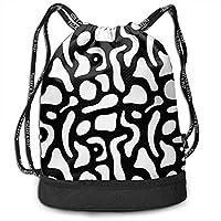 Bernie Dodd Drawstring Backpack Drawstring Bag Sport Gym Sackpack Drawstring Backpack Tai Chi Silhouette Rucksack
