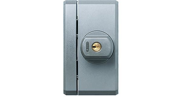 ABUS 78551 Fenster Zusatzsicherung mit Alarm Silber