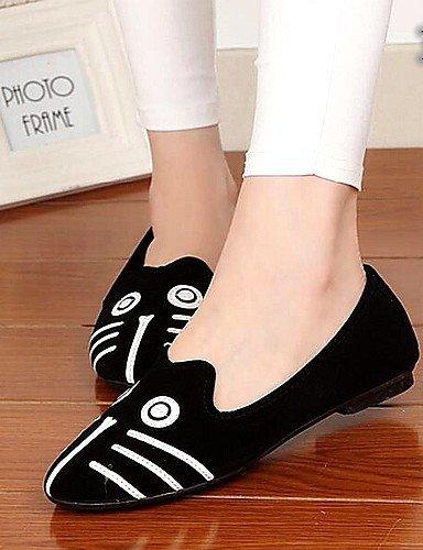 Chaussures Femmes Shangyi - Mocassins - Bureau Et Travail / Casual - Confortable - Plat - Similicuir - Multicolore 2 #