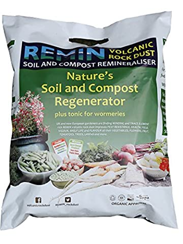 Elixir Gardens ® Volcanic Rock Dust Organic Fertiliser Remineralizer | Remin | 10kg