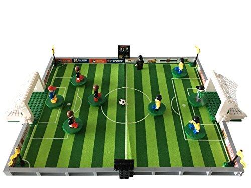 Como Fußballstadion kompatibel mit Anderen Bausteinen (Weiß)