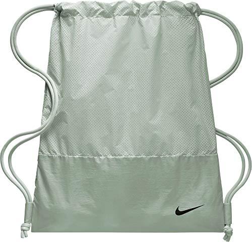 Nike 2018 Turnbeutel, 45 cm, Mehrfarbig (Plata/Negro)