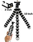 #8: Meya Happy 100% Original 13 inch Height Fully Flexible Foldable Octopus Mini Gorilla Tripod Stand for Mobile Camera, DSLR, Smartphone & Action Cameras