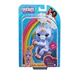 Fingerlings Baby Unicorn - Alika (Purple with Rainbow Mane and Tail) - Friendly Interactive Toy by WowWee-Purple