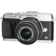 """Olympus E-P5 - Cámara EVIL de 16.1 Mp (pantalla 3"""", estabilizador óptico, grabación de vídeo), negro y plateado - Kit cuerpo con objetivo 14-42 mm II R"""