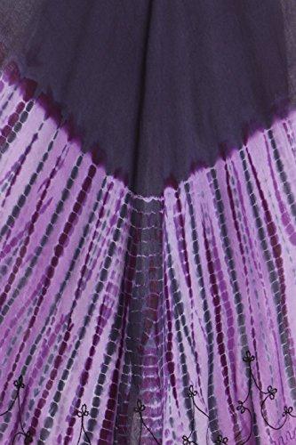 Sakkas Viveka gestickte Kaftan Kleid Lila