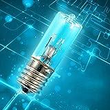 Excellent112 Ozon-Lampe, keimtötende Glühbirne – Desinfektion, für den Hausgebrauch, UVC-Sterilisationslicht für Milben/Bakterien/Kühlschrank/Mikrowellenöfen, E17 (mit Ozon, mit Ozon)