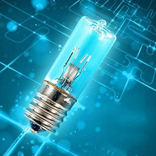 Desinfektionslampe, Haushaltsbedarf, E17, blaues und weißes Licht, Desinfektion, Ozon, Quarzröhren, UVC, keimtötende Sterilisation Milben entfernen Lampe Free Size With Ozone -