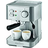 Profi Cook 501109 Espresso Makinası, Çelik, Gri