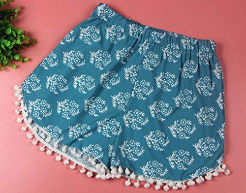 Pinkyee Damen Short Small Blau