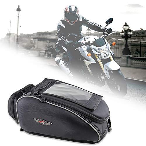 Bolso magnético tanque motocicleta Bolso negro impermeable