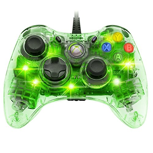 Afterglow Wired Controller for Xbox 360 - Green (360-controller Afterglow Xbox)