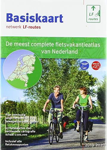 Basiskaart netwerk LF-routes: De meest complete fietsatlas van Nederland