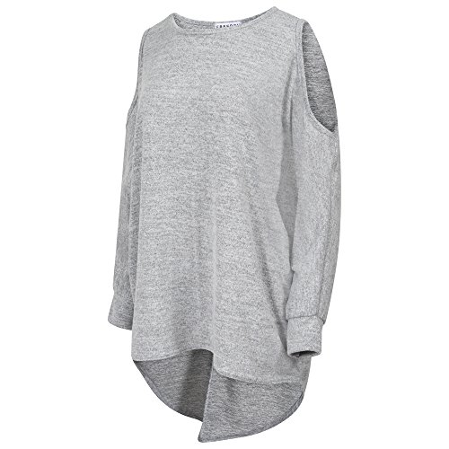 Get The Trend -  Maglia a manica lunga  - Donna Light Grey