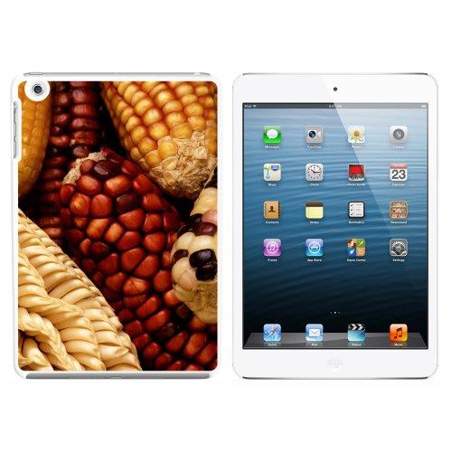 indischen Mais auf COB–Mais Flint Fall Snap On Hard Schutzhülle für Apple iPad Mini 1. Generation–Weiß