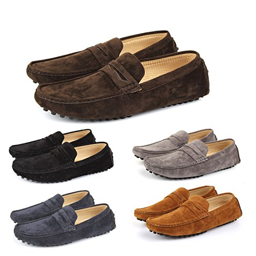 Shoes Click , Mocassins homme Noir - noir