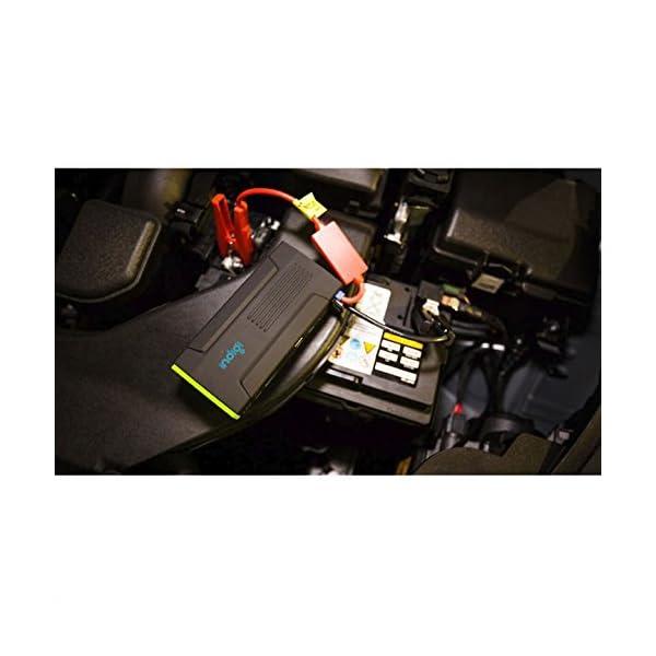 Indigi® 12800mAh resistente portátil salto de arranque emergencia para coche–Car Jump Starter Power Bank iPhone iPad portátil